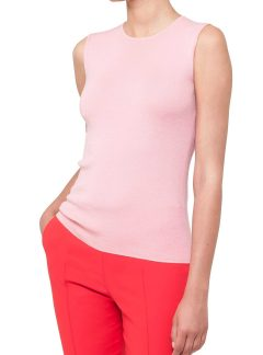 AKRIS Cashmere & Silk Knit Top