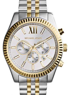 Large Lexington Chronograph Bracelet Watch, 45mm