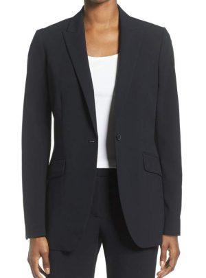 Long Boyfriend Suit Jacket