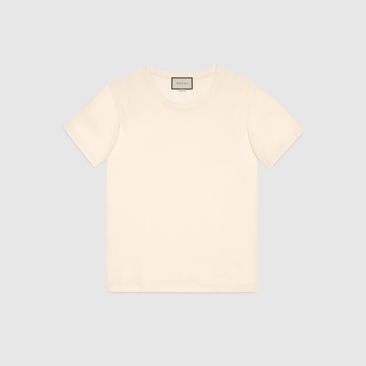 Gucci stamp print t shirt fashion frenesie for Stamp t shirt printing
